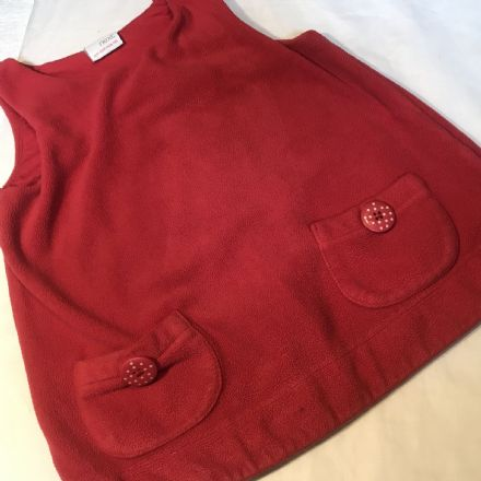 18-24 Month Red Fleece Dress